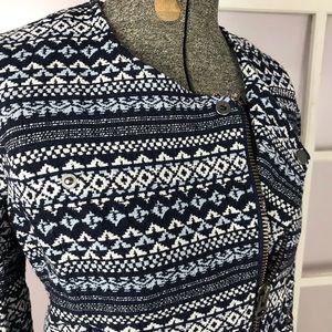 Joie Darnel print woven jacket